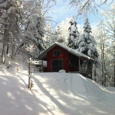Ansicht Süd Winter 2